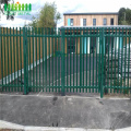 steel metal palisade security fence for garden decoration