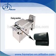 Estructura del transportador de rodillos PTFE Máquina de fusión de la correa para hashima oshima