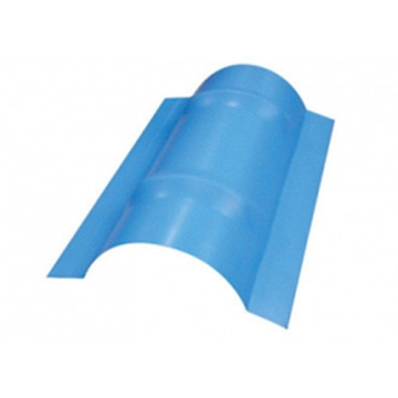 Ridge cap sheet metal roll membentuk mesin