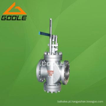 Válvula redutora de pressão de sede dupla operada por alavanca Y45H