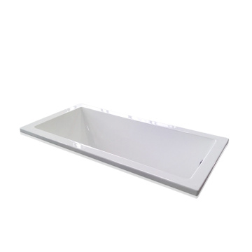 Kanada Style Big Drop-in Bathtub in White