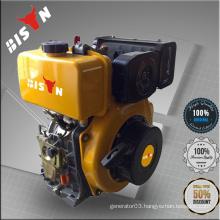 BISON China Taizhou 10hp Single Cylinder AC Single Phase CE 10hp Diesel Engine 186F