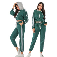 Casual Two Piece Tracksuits Hoodie and LongPants
