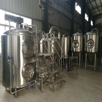 Cervecería 1000L, 2 recipientes Brewhosue de acero inoxidable