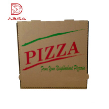 Oem äußerer populärer heißer Verkauf preiswerter Papiergewelltpizza-Verpackungskasten