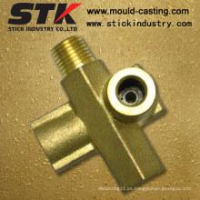 Parte de forja de latón con mecanizado CNC (STK-BF-0417)