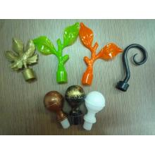 2015 Hot Plastic Curtain Finial