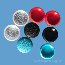 coloré TPU ThumbStick Cover Caps pour Nintendo swtich contrôleur joystick couverture