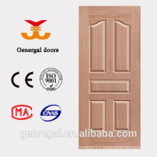 Interior cheap price HDF wood moulding door