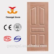 Porta de moldagem de madeira HDF preço barato interior