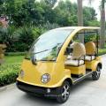 Carro turístico elétrico colorido de 4 assentos com aprovação CE (DN-4/5)