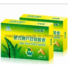 100 % naturel Aloe Vera minceur Capsule molle (MJ - 350 mg * 30capsules)
