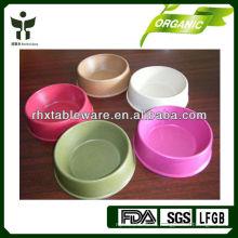 Бамбуковая чаша для воды для домашних животных