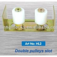 Factory Wholesale Nylon / Plastic Pulley Bracket