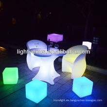 muebles decorativos iluminados