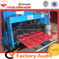 High-end Glazed Tile Forming Machine Making Step Roofing Profiles