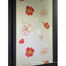 Folha acrílica da cor lustrosa elevada para a porta do armário da cozinha