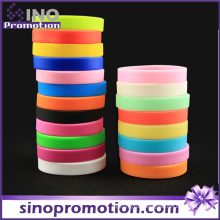 Custom Design Fashion Personalized Sports Thin Silicone Bracelet Making