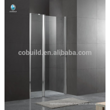 K-536 Foshan latest design shower room hinge door with 6mm 8mm clear glass simple design glass shower room