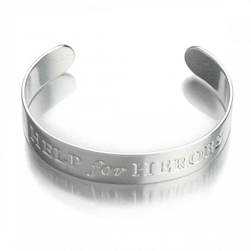 Personalized Bangle Bracelets Aluminum Alloy Bangles Cuff
