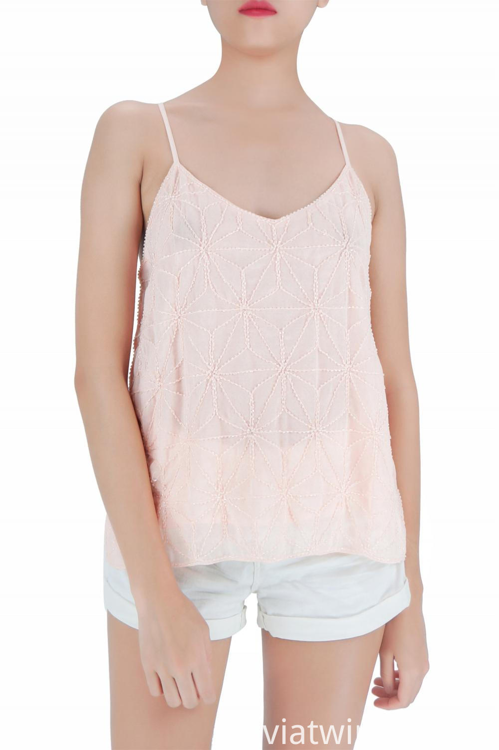 Summer Girls Sequin Tank Tops