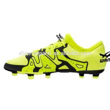 nouvelles chaussures de football de vente chaude chaussures de football PU chaussures