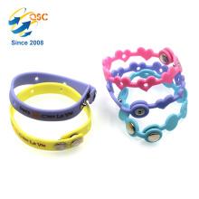 2018 adjustable silicon wristband heteromorphism Popular