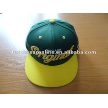 Sonderanfertigung Sanpback Caps und Hüte mit 3D Stickerei