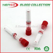Tubos de recolha de sangue sem vácuo HENSO