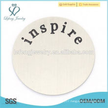 Hot sell for Living Memory locket mum love daughter floating charms plates