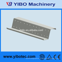 Yibo Estrutura de aço Z Bar Roll formando Steel Purlin