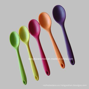 Cuchara de Silicona de Color de Prueba FDA