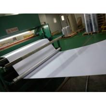 Folha branca fosca de PVC para cartões de nome