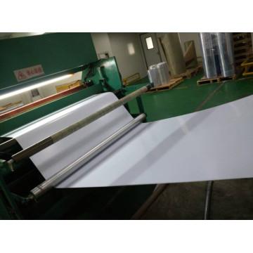 PVC Matte White Sheet for Name Cards