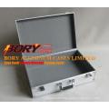 Huge Multi Level Aluminum Metal Tool Tackle Fishing Box Chest Case