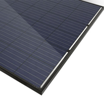 Trina Customized 50w 400W panel solar negro completo