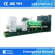 Generador Diesel de 2500KVA, 6300V