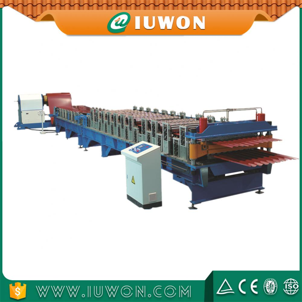 double layer wall panel machine