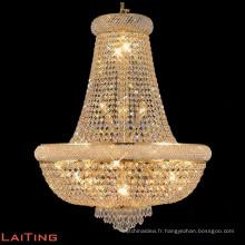 Lustre de luxe dans la lumière de fantaisie de Dubaï pour la maison