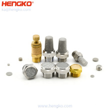 High quality metal sintered auto muffler tip for exhaust pipe valve