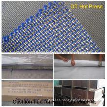 Press pad in short cycle hot press