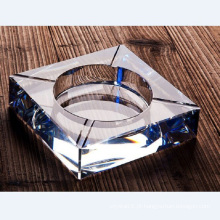 Cinzeiro de cristal de vidro quadrado de Fastion para a decoração do hotel