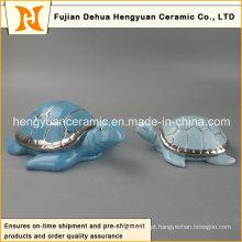 Design de moda tartaruga de mar cerâmica decorativa