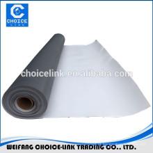 TPO / poliolefina termoplástica membrana impermeável largura de 2m