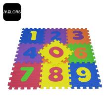 Блокировка Kids Foam Toys Развивающие номера Puzzle Mat
