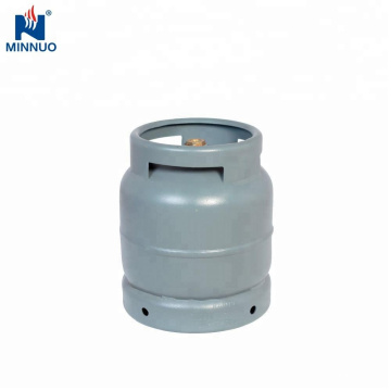Dominica 3KG venda quente portátil mini tamanho cilindro de gás lpg