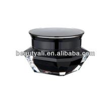 Акриловая банка черного алмаза