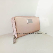 Guangzhou Supplier Women PU Wallet Lady Leather Purse (NMDK-041302)