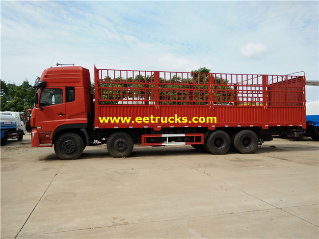 Dongfeng Box Cargo Trucks
