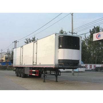 14.6m Tri-axle Refrigerated Van Semi Trailer